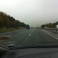 Photo taken at M56 Junction 12 / A557 by Dawid C. on 10/22/2012