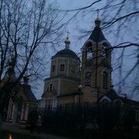 Photo taken at Церковь Пос. Мосрентген by Антон У. on 11/22/2012
