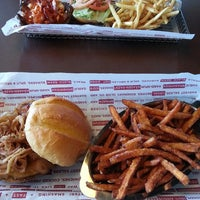 Photo taken at Smashburger by Rebecca S. on 5/24/2013