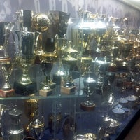 Photo taken at Manchester United Museum & Tour Centre by Volodymyr B. on 5/6/2013