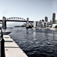 Photo taken at Aquabus Granville Island Dock by Steve T. on 5/12/2013