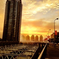 Photo taken at Stadium - Chinatown SkyTrain Station by Steve T. on 1/18/2013