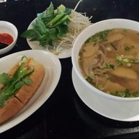 Photo taken at La V Vietnamese Fusion by Andrew S. on 6/26/2013