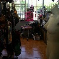 Photo taken at Texas Trash Clothing Exchange by Thiana F. on 4/7/2013