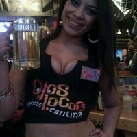 Photo taken at Ojos Locos Sports Cantina by Thiana F. on 2/2/2013