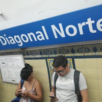 Photo taken at Estación Diagonal Norte [Línea C] by Yury S. on 2/16/2017