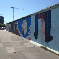 Photo taken at East Side Gallery by Dirk W. on 7/21/2013