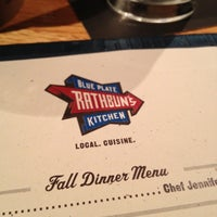 Photo taken at Rathbun's Blue Plate Kitchen by Irene on 10/13/2012