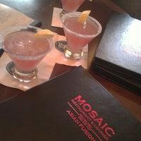 Photo taken at Mosaic Restaurant & Lounge - Four Points By Sheraton by Cruz K. on 6/24/2013