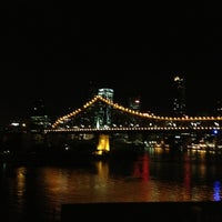 Photo taken at Story Bridge by Romulo L. on 12/27/2012