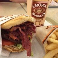 Photo taken at Crown Burger by Susan K. on 4/30/2016