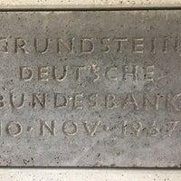 Photo taken at Deutsche Bundesbank by berti4 on 9/20/2017