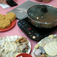 Photo taken at Restaurant Ho Ho Steamboat (好好海鲜火锅之家) by Leeky .. on 2/9/2017