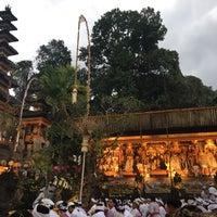 Photo taken at Pura Gunung Lebah - Tjampuhan Ubud by We Pe W. on 1/26/2017