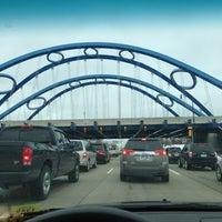 Photo taken at Gateway Bridge by Marsha H. on 2/28/2013