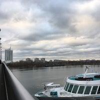 Photo taken at Reichsbrücke by Christina Rui Z. on 12/26/2016