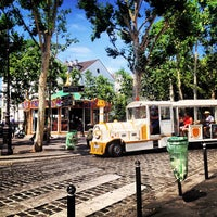 Photo taken at Place des Abbesses by Ariane F. on 7/22/2013