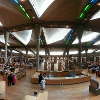 Photo taken at Bibliotheca Alexandrina by Duc L. on 1/20/2013