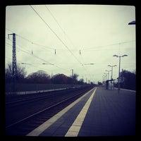 Photo taken at Bahnhof Bremerhaven-Lehe by Nicolas D. on 12/5/2013