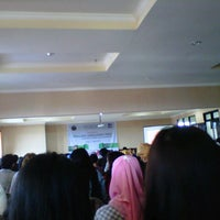 Photo taken at Gedung A FISIP by Nurul L. on 4/17/2013