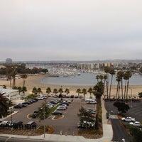 Photo taken at Marina Del Rey Marriott by Dustin J. on 8/13/2013