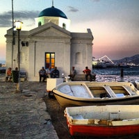 Photo taken at Mykonos Island by Maria Rosaria S. on 8/4/2013