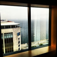 Photo taken at Mövenpick Hotel Izmir by Oğulcan A. on 11/19/2012