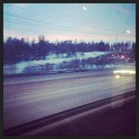 Photo taken at Swebus Stockholm - Arlanda by Евгения Ш. on 3/4/2013