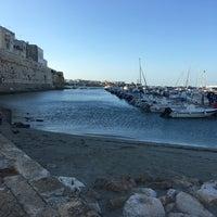Photo taken at Porto di Otranto by Wu W. on 9/14/2017