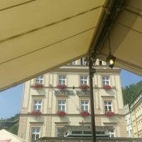 Photo taken at Restaurant hotelu Růže by Guillaume M. on 8/14/2015