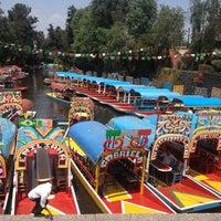Photo taken at Xochimilco by Liiz ♥ on 4/6/2013