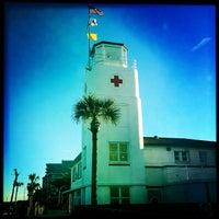 Photo taken at Jax Bch Lifeguard Station by Matt F. on 1/13/2014