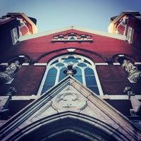 Photo taken at Sacred Heart Catholic Church by Matt F. on 12/18/2014