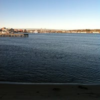Photo taken at US Coast Guard Station New London by Nicole D. on 11/4/2012