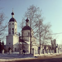 Photo taken at Церковь Рождества Богородицы в Образцово by Maxim X. on 2/22/2013