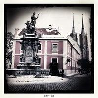 Das Foto wurde bei Ostrów Tumski von John O. am 1/28/2013 aufgenommen