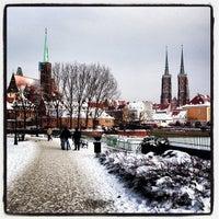 Das Foto wurde bei Ostrów Tumski von John O. am 2/1/2013 aufgenommen