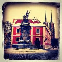 Das Foto wurde bei Ostrów Tumski von John O. am 1/30/2013 aufgenommen