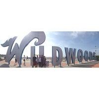 Photo taken at Wildwood Boardwalk by A.J. M. on 8/9/2013