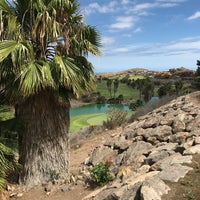 Photo taken at Sheraton Salobre Golf Resort & Spa by Leo on 5/6/2017