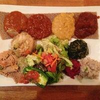 Photo taken at Desta Ethiopian Kitchen by Octavio D. on 5/19/2013