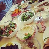 Photo taken at Lebanese House Restaurant by Farah A. on 8/13/2013