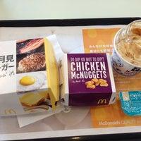Photo taken at マクドナルド 時津店 by Kimino K. on 9/6/2013