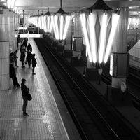 Photo taken at Midosuji Line Tennoji Station (M23) by Keiichiro S. on 1/12/2013