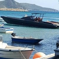 Photo taken at Poseidon Hotel Kokkari Samos by Derya E. on 7/8/2016