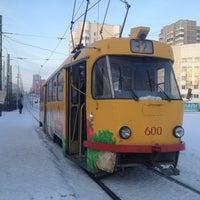 Photo taken at Трамвай № 33 by Ivan S. on 1/15/2013