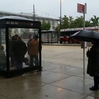 Photo taken at Metrobus 83 North To Cherry Hill At College Park Metro Station by Dancing S. on 10/10/2013