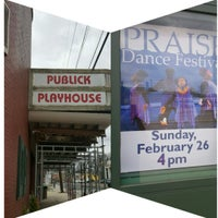 Photo taken at Publick Playhouse by Dancing S. on 2/26/2017
