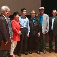 Photo taken at Flushing Town Hall by Pedro J. on 8/13/2017
