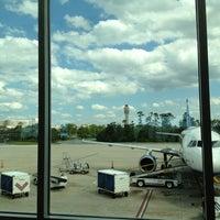 Photo taken at JetBlue Flight 398 by Jing T. on 5/8/2013
